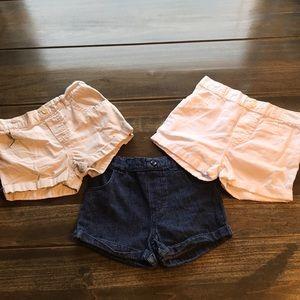 Toddler Girls Garanimals Shorts (Set Of 3)